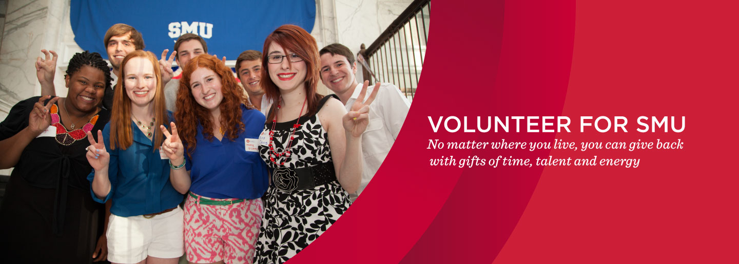 Volunteer for SMU