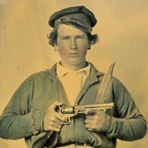 [Private Japhet Collins, Confederate States of America Army], ca. 1861