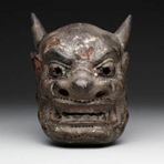 Japanese gigaku mask, ca. 8th-10th century A.D.