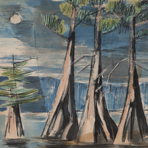 Untitled, ca. 1950s-1960s, by DeForrest Judd from the Caddo Lake Sketchbook