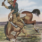 Stick to your saddle, ca. 1908-1912, by Paul Gredo