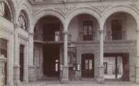 Court of Hotel Iturbide. City of Mexico, 1904, by C.B. Waite
