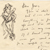 Illustrated letter from Thomas H. Benton to Jerry Bywaters, n.d.