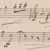 Sketch of a cello melody by Richard Wagner