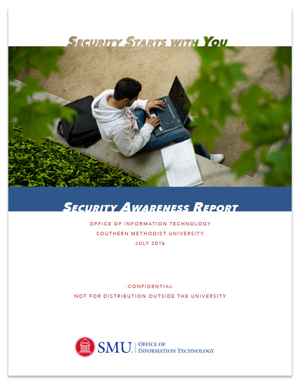 OIT Security Report Cover